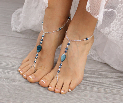 something-blue-wedding-barefoot-sandal-blue-foot-jewelry