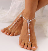 Starfish-Barefoot-Sandal-Bead-Wedding-Foot-Jewelry-Starfish-Footless-Sandals