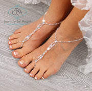 beach-wedding-barefoot-sandal-rhinestone-foot-jewelry-wedding-shoes