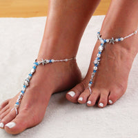 Starfish Barefoot Sandals Beach Wedding Barefoot Sandal Turtle Seashell Seahorse