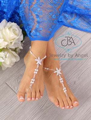 Beach-Wedding-Sandals-Starfish-Barefoot-Sandals-Wedding-Foot-Jewelry
