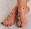 Instagram Favorite Custom Color Barefoot Sandals Foot Jewelry