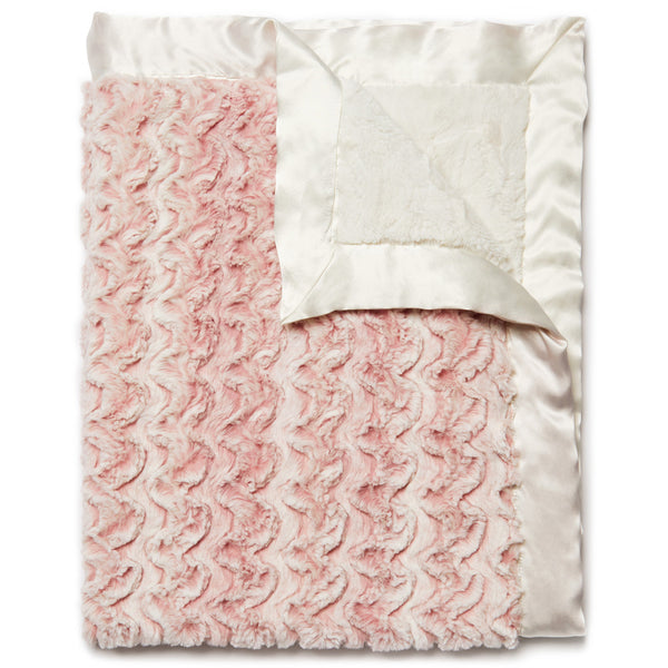 Lux Baby Blanket – Rose Pink