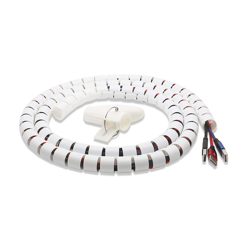 Spiral Wire Cable Organizer(Dia 22MM-Length 1.5M)