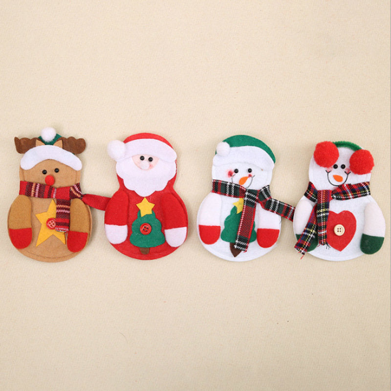 Christmas Cutlery Decoration(4 Pieces)