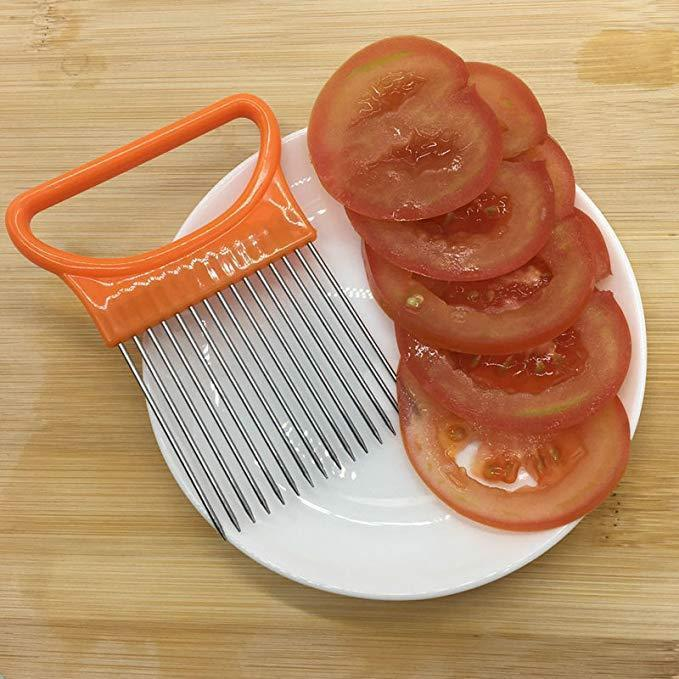 Onion Slicer Holder for Vegetables