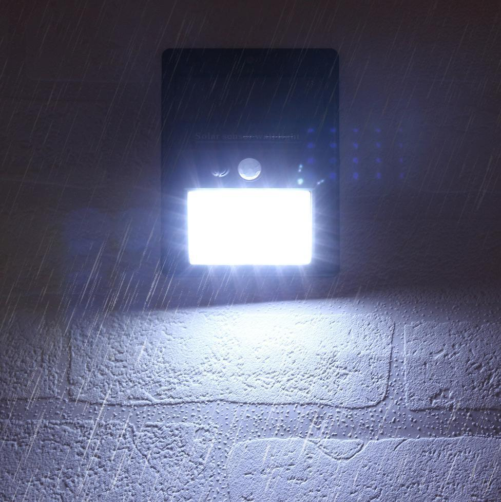 Solar Lamp Wall Sensor Light (30 LEDs)