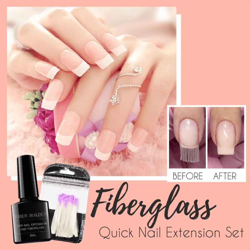 Fiberglass Nail Quick Extension Set