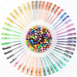 Glitter Gel Pens for Adult Coloring Books