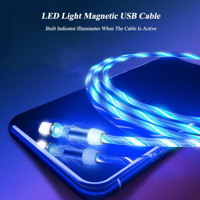 LED Light Magnetic Charging Cable(1 Meter)