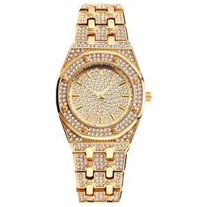 18k GP Iced Out CZ Stone 2nd Edition Watch JSN - Simply IcedOut