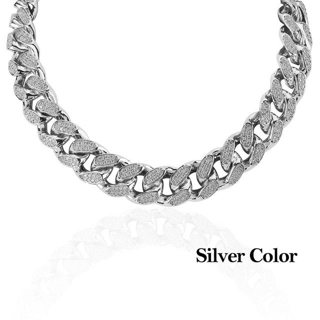 18k GP 20mm Miami Cuban Link Necklaces JSN - Simply IcedOut
