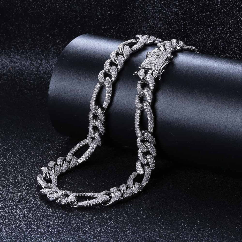 18k GP Arctic Hip-hop Premium Cuban Link Necklaces JSN - Simply IcedOut