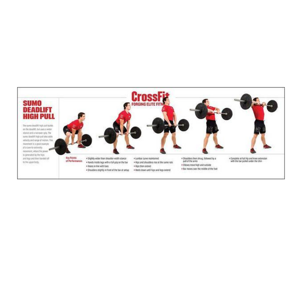 Movement Poster- Sumo Deadlift High Pull