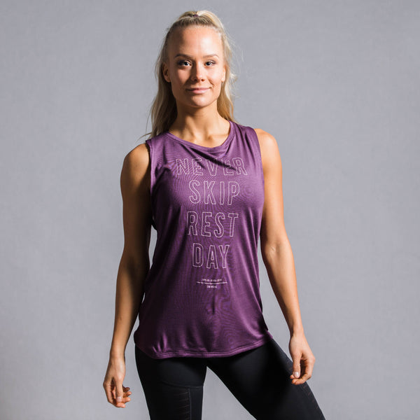 Training Supply Graphic Muscle Tank