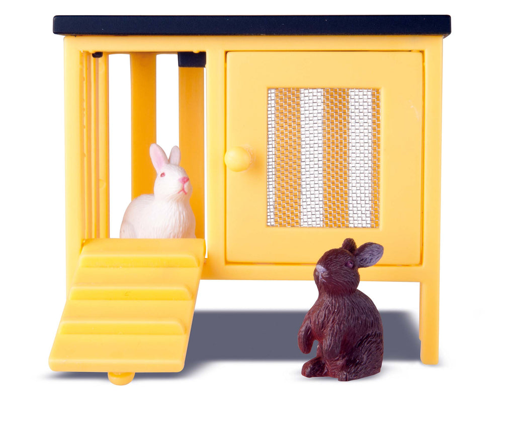 Småland Two Rabbits & Hutch