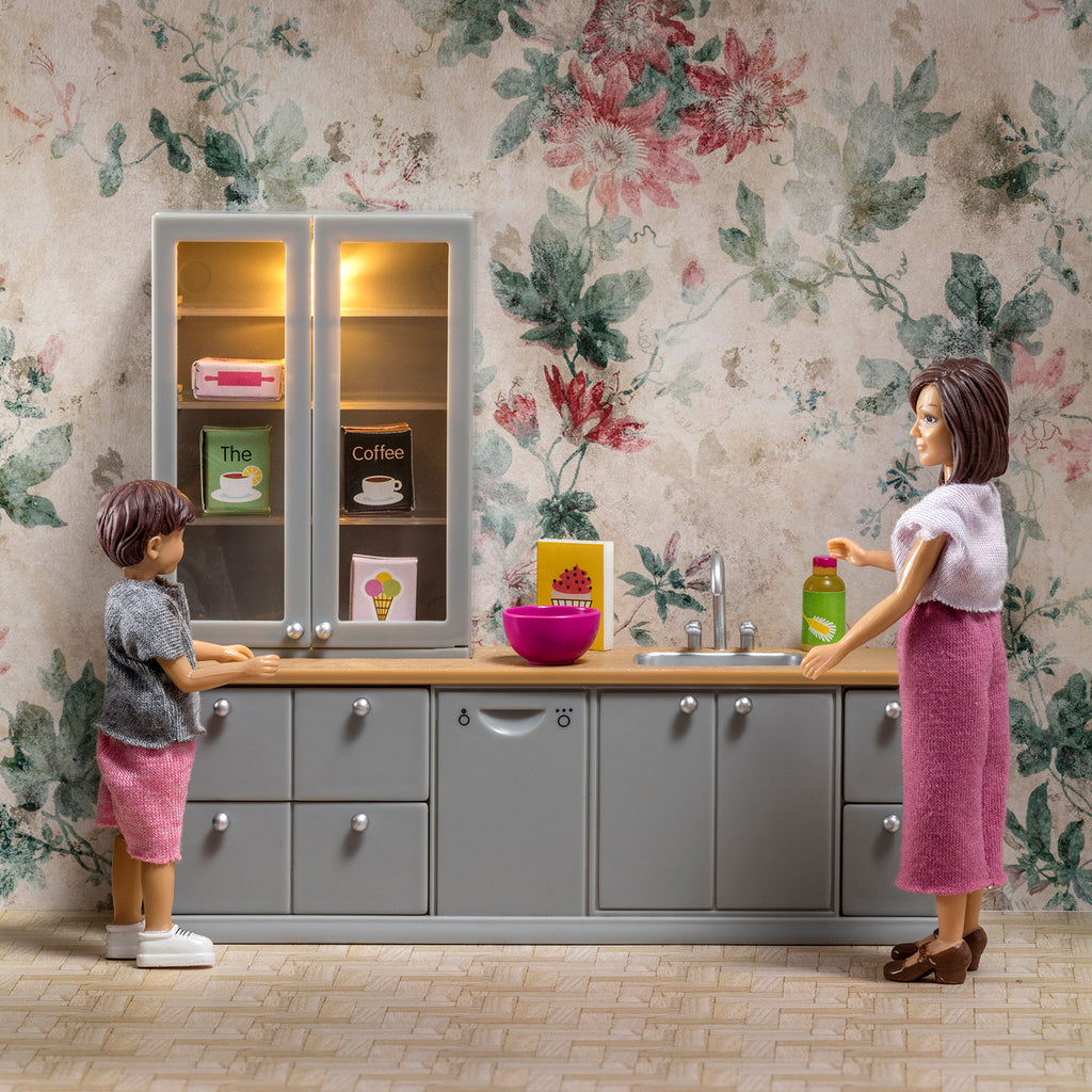 Lundby Washing-Up Sink + Dishwasher