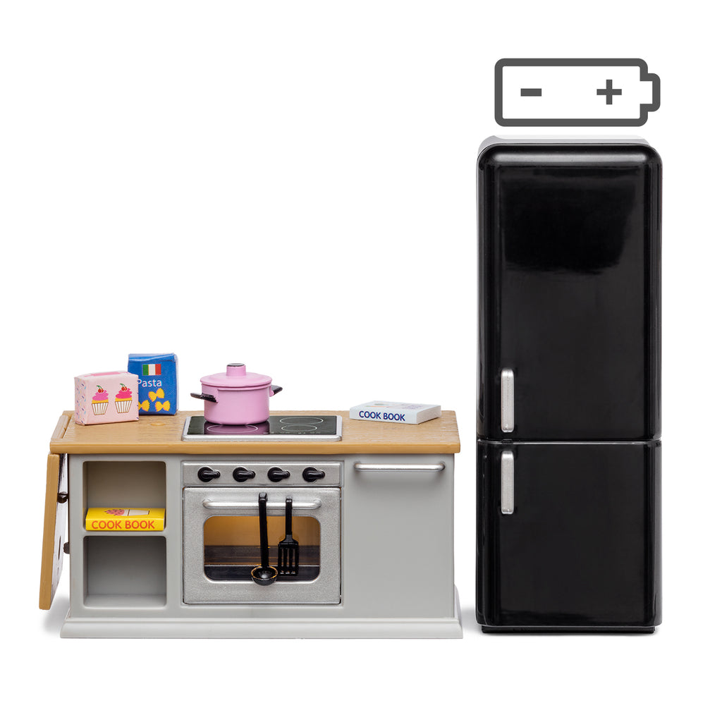 Lundby Stove and Fridge Set