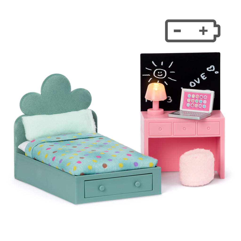 Lundby Teen Room Set