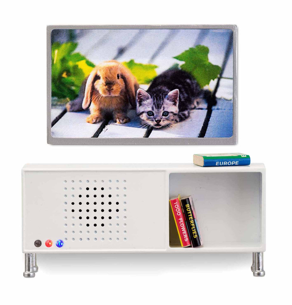 Småland Bluetooth Stereo Sideboard & TV Set