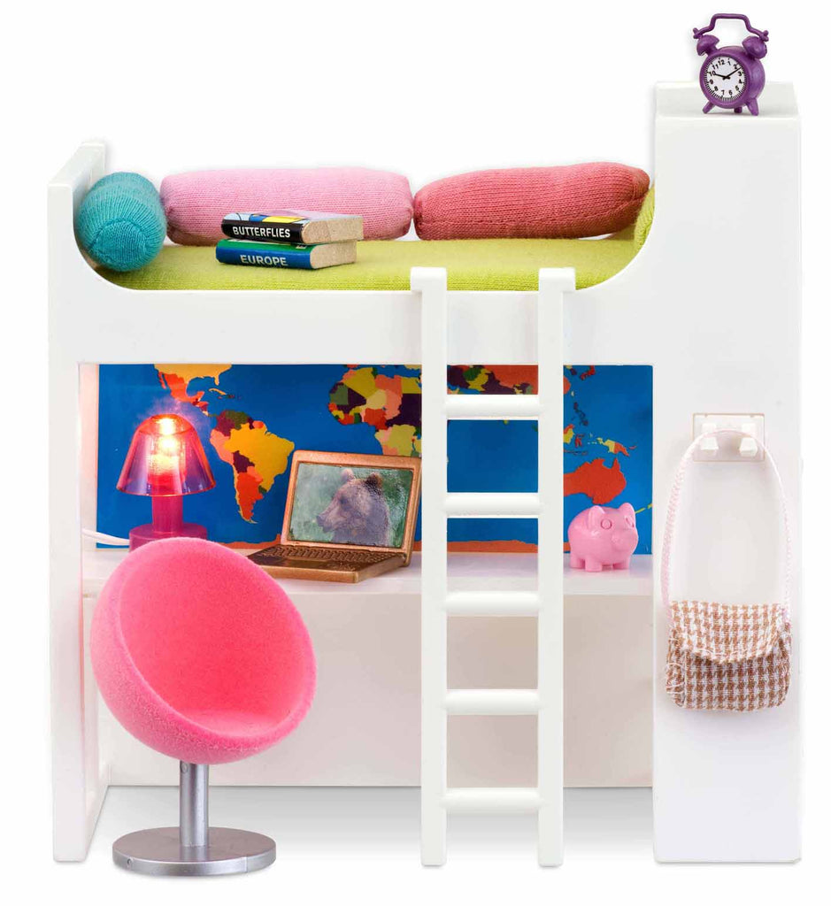 Loft bed (lights up)