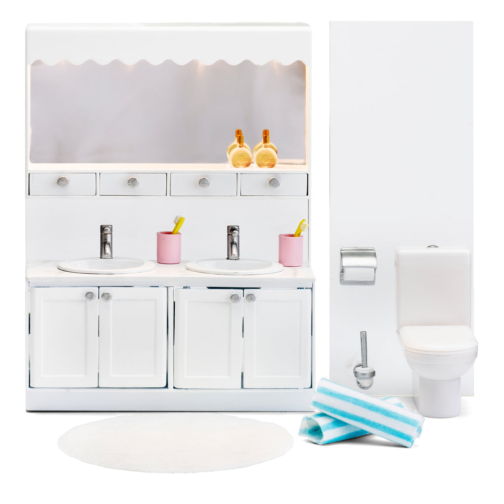 Lundby Bathroom Set