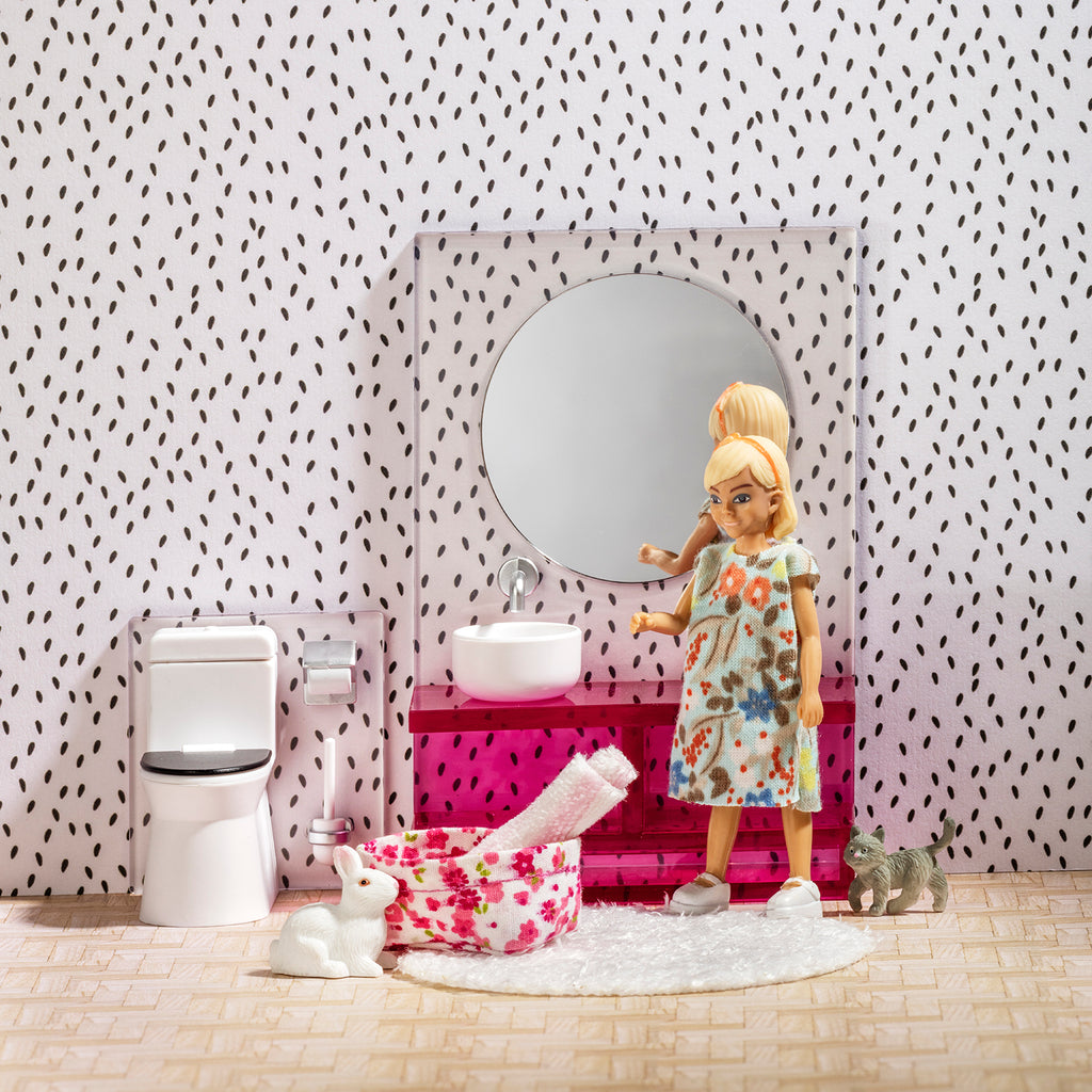 Lundby Bathroom Suite Set