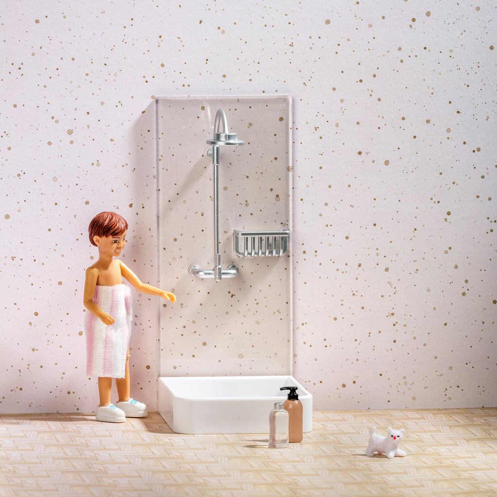 Lundby Shower Set
