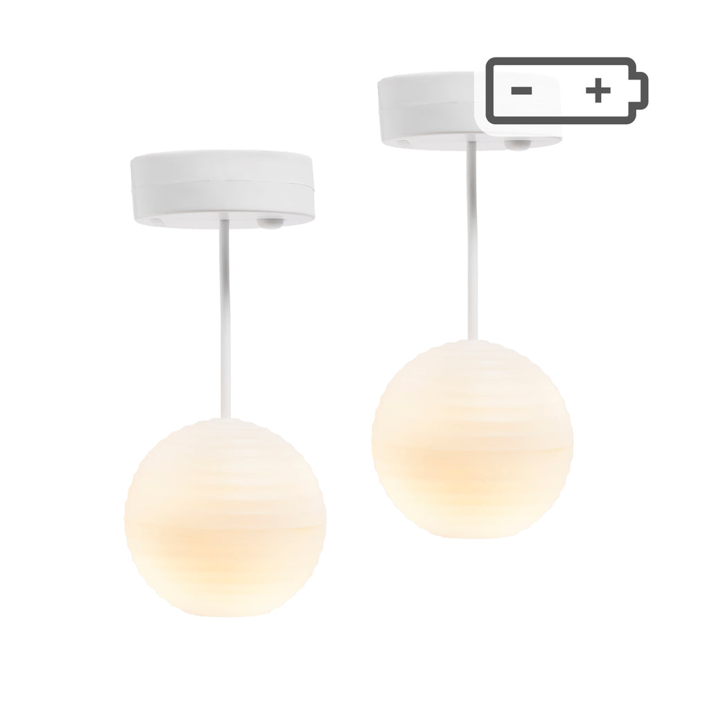 Lundby Ceiling Lantern Lamps - Battery Operated