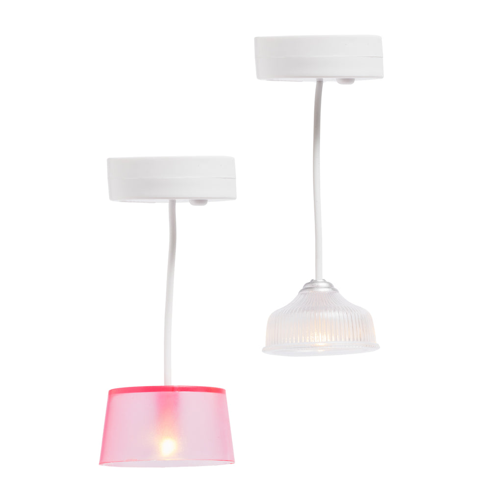 Lundby Ceiling Lights - Battery Operated