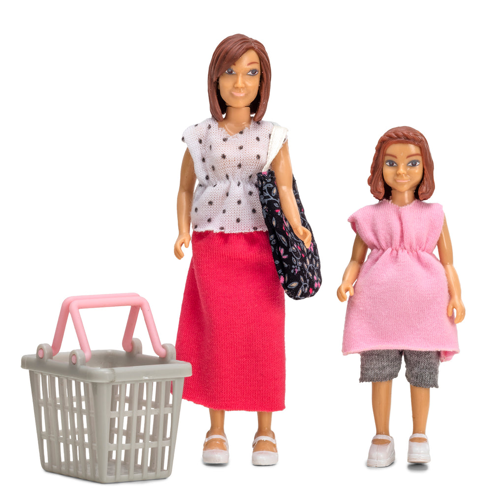 Lundby Mother and Daughter go shopping