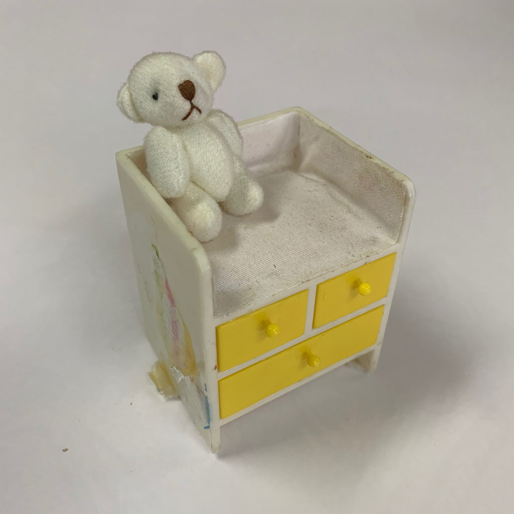 Lundby - Baby Change Table with Teddy Bear