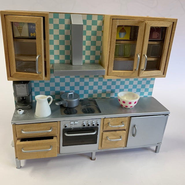 Lundby - Kitchen Stockholm with Stove