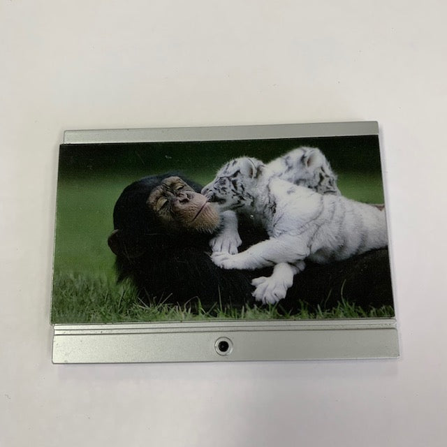 Lundby - Flat Screen TV with Gorilla & White Tiger