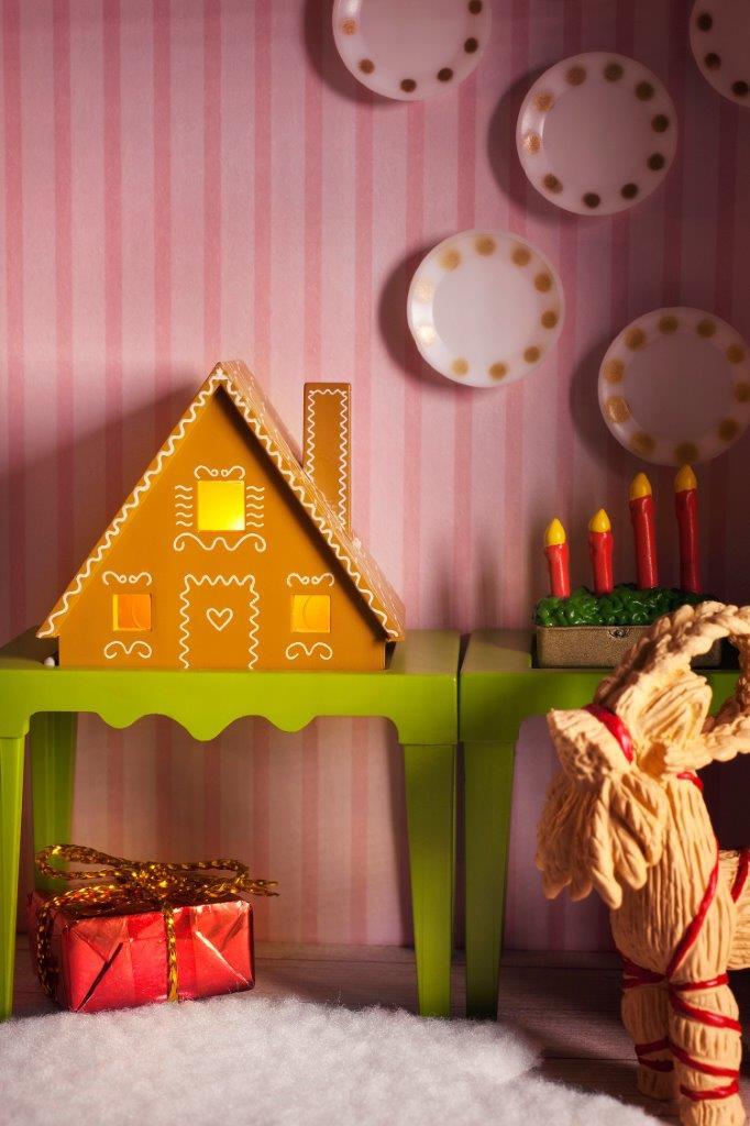 Smaland Gingerbread House Set