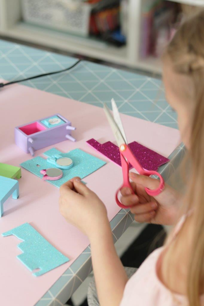 Lundby DIY Bedroom Set