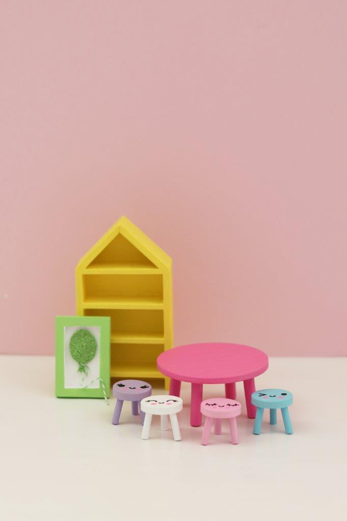 Lundby DIY Dining Room Set
