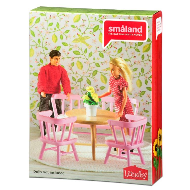 Småland Kitchen Furniture Set, Pink