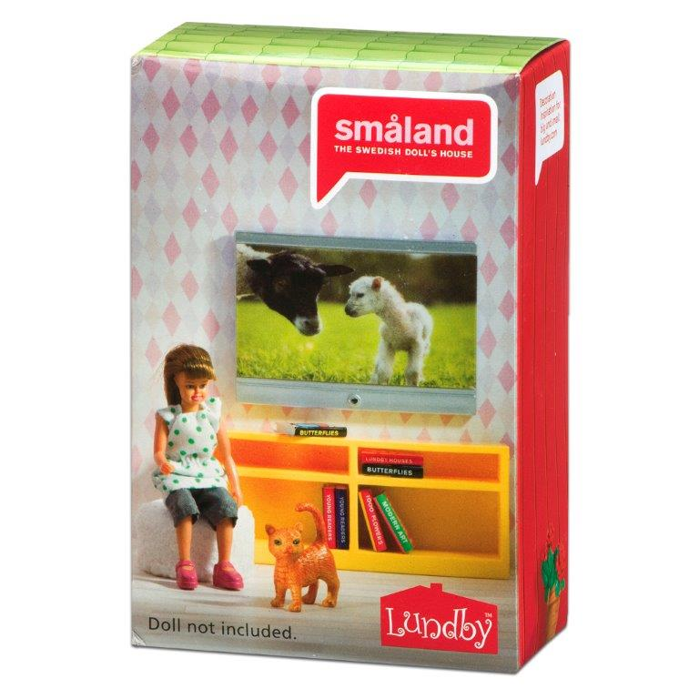 Småland Bookcase & TV Set