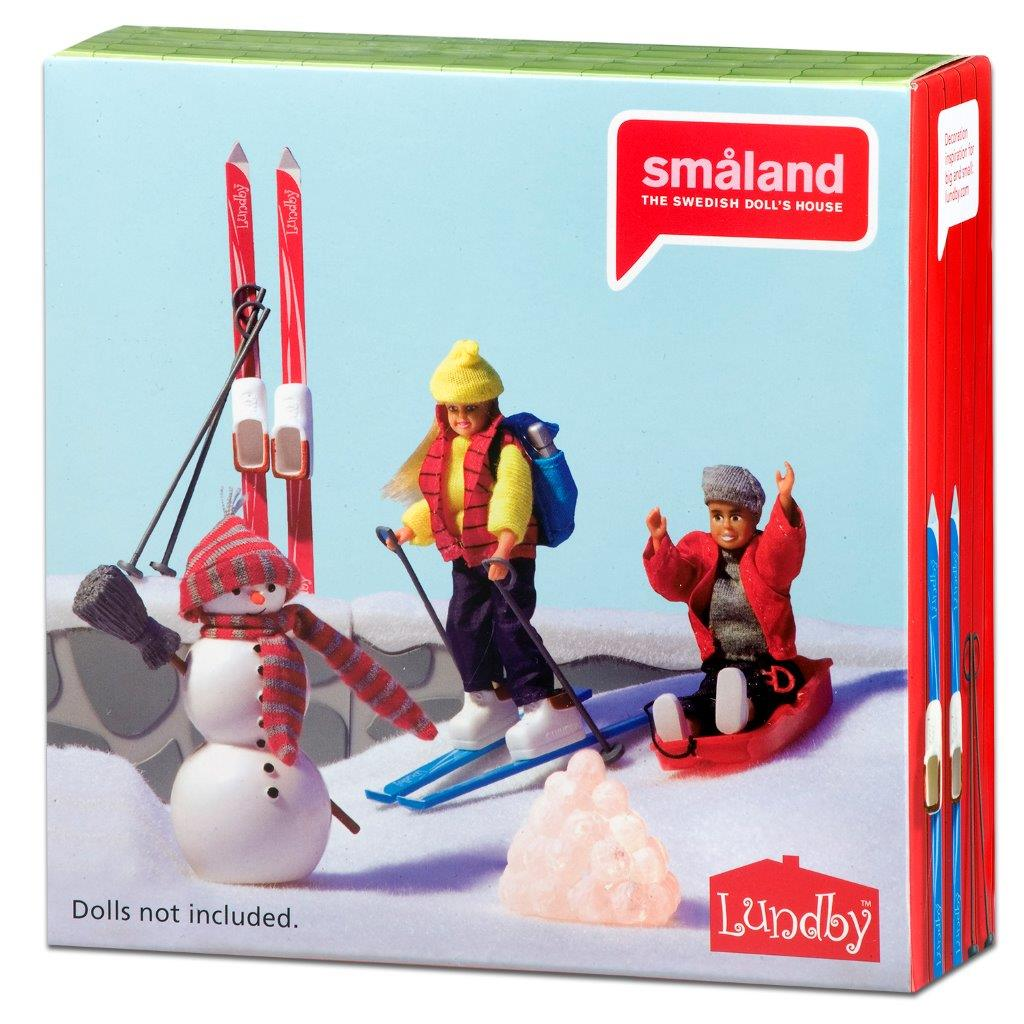Småland Winter Ski Set