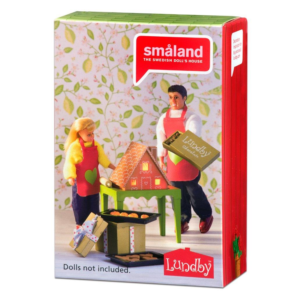 Lundby Gingerbread House Set