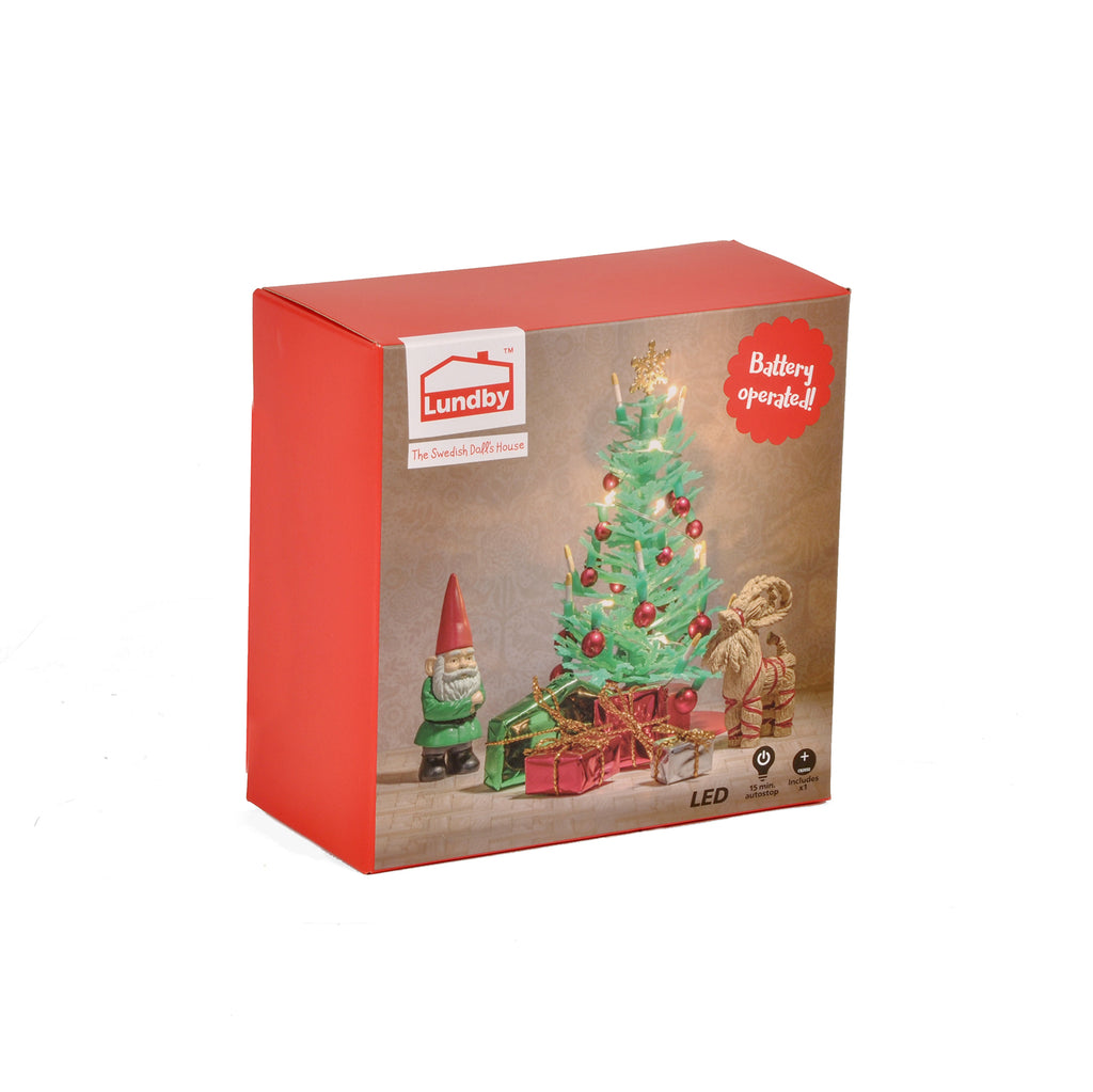 Lundby Christmas Tree - Battery Operated
