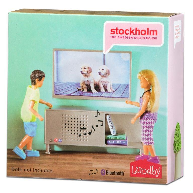 Stockholm Bluetooth Stereo Sideboard & TV Set