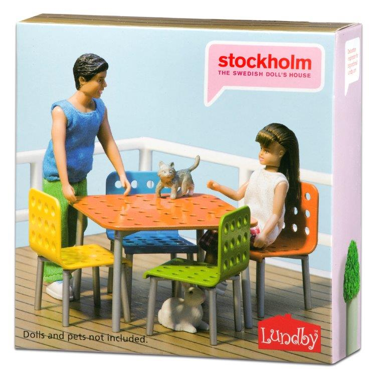 Stockholm Terrace Furniture