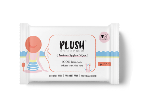 Pack of 5 Wipes - Promo Pack - Plush