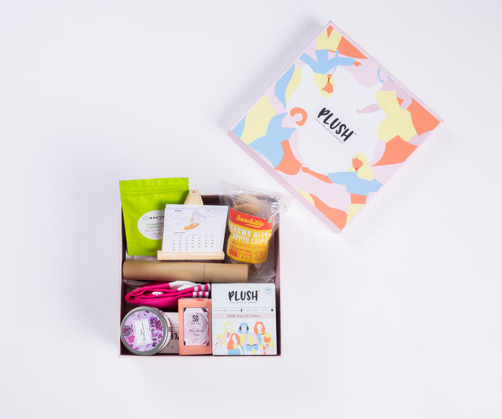 The Period Comfort Hamper 2.0 - Plush