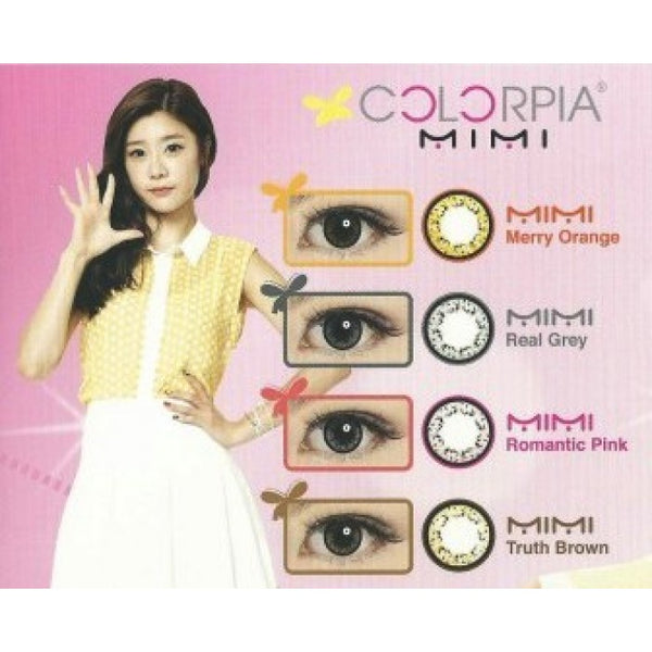 Colorpia Mimi 2 Lenses Colour Chart
