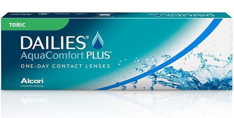 Dailies Aqua Comfort Plus Toric 30 Lenses Large