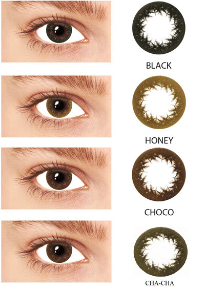 Blincon CC Natural Monthly 2 Lenses Colour Chart