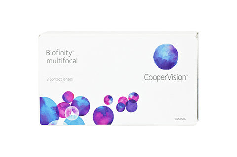 Biofinity Multifocal Monthly 3 Lenses Large